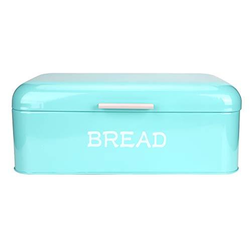 Caixa de pão moderna, recipiente de armazenamento de cozinha Caixa de pão de recipiente de pão, para quarto em casa sala de estar escritório