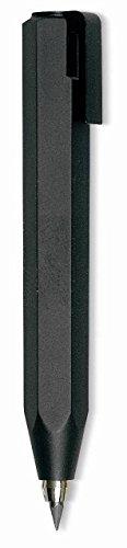 Worther Shorty Bleistift schwarz mit schwarzem Clip