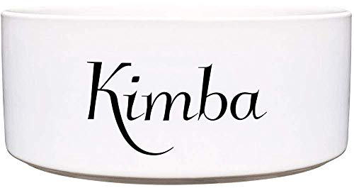 Cadouri Keramik Hundenapf Futternapf Wassernapf mit Name deines Hundes ︎ personalisiert ︎ - 1.300 ml