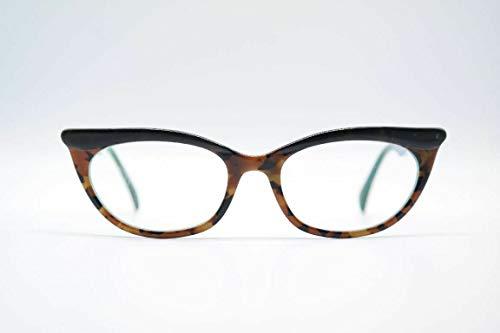 Acuitis Chloe Ecaille VE 51[]19 135 bruin groen ovaal bril brilmontuur