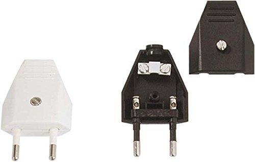 Bachmann 900002 2P prise électrique noire 250 V; 2,5 A