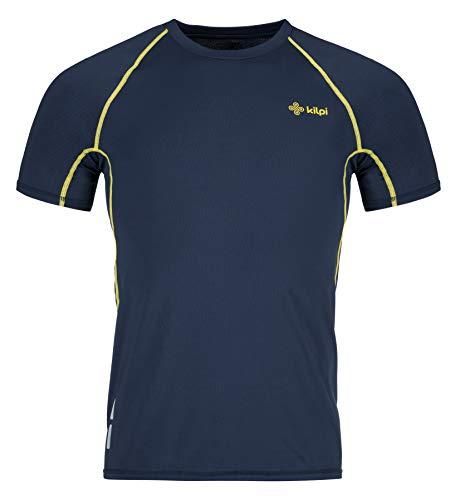 Kilpi Herren-T-Shirt, Motiv: Regenbogen XL dunkelblau