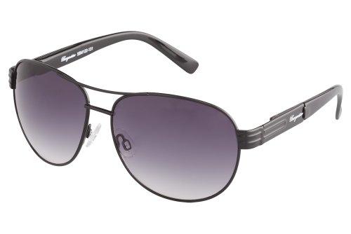 Klassische Marken Sonnenbrille für Herren von Burgmeister mit 100% UV Schutz | Sonnenbrille mit stabiler Metallfassung, hochwertigem Brillenetui, Brillenbeutel und 2 Jahren Garantie | SBM122-131