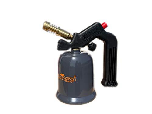 Eurocamping - Soldador de gas butano con cartucho sin pieza; modelo 1142