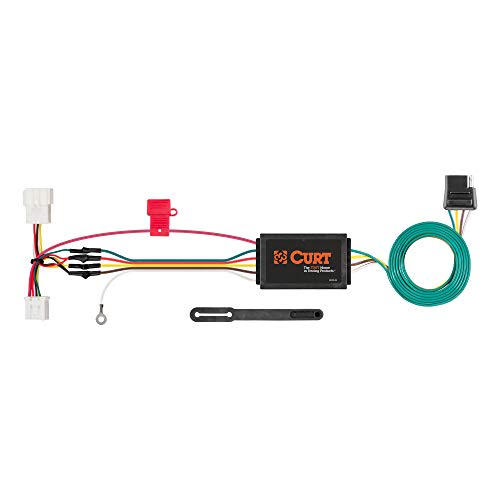 diagram 4 pin trailer wiring harness to vehicle curt 56158 vehicle side custom 4 pin trailer wiring harness for  curt 56158 vehicle side custom 4 pin