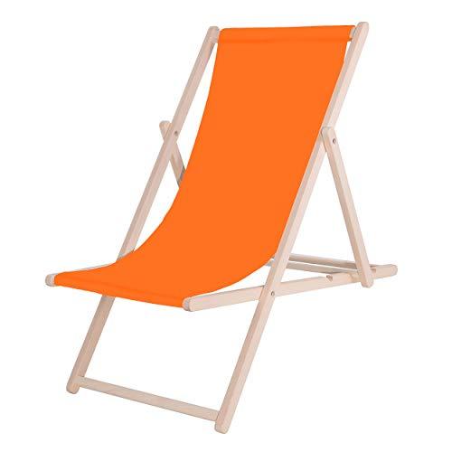 Sedia a sdraio SPRINGOS, fai da te, legno, dimensioni: 58 x 92 x 62 cm, lettino prendisole, pieghevole, sedia relax, lettino da giardino, mobili da giardino,