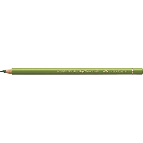 Faber-Castell Polychromos Artists' Single Pencil - Colour 168 Earth Green Yellowish