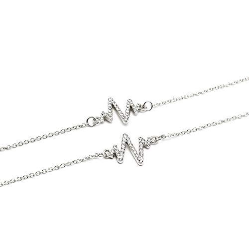 Cadena de Gafas Vintage de Diamantes en Forma de Cadena Lentes Iluminación-Cadena...