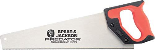 Spear & Jackson B9814 Scie égoïne, Rouge, 350 mm