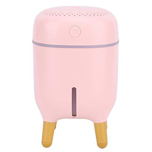 Humidificador de escritorio, humidificador ligero USB, para la oficina del dormitorio del coche en casa(Pink)