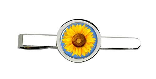 Family Crests Sonnenblume Clip-Krawatte Nadel