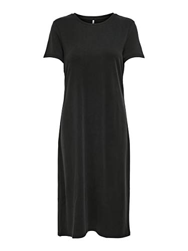 ONLY Damen Kleid Kurzärmeliges MBlack