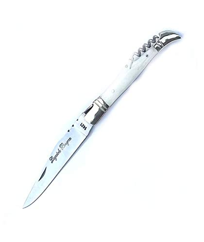 5170 White Ox Bone Handle Sommelier Knife 12 cm Blade