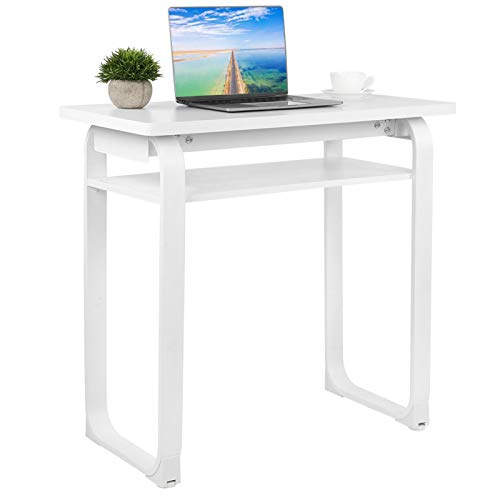 Emoshayoga Escritorio Mesa de Ordenador Suministros para el hogar Blanco 80 x 40 x 75 cm Escritorio de Estudio para Oficina en casa