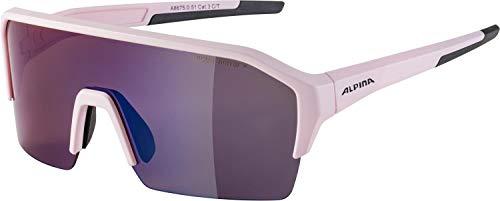 ALPINA Unisex - Erwachsene, RAM HR Q-LITE Sportbrille, light-rose matt, One size
