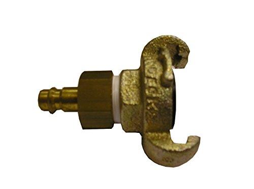 Druckluft-Adapter, Klauenkupplung auf Stecker 7.2 mm, 5000.050