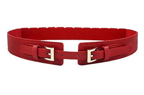 Oyccen Ajustable Cinturón Elástico de Mujer Elegante Cinturónes Ancho de Vestidos Banda de Cintura