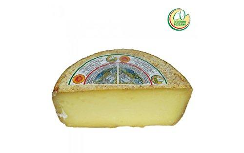 - 1 Pecorino Toscano Dop, formaggio Stagionato di Pecora Mezza forma, peso di Kg. 1,0 Sua 'maestà' il Pecorino Stagionato Toscano è prodotto esclusivamente con latte di pecora proveniente da pascoli della regione Toscana Il Pecorino Toscano DOP stagi...