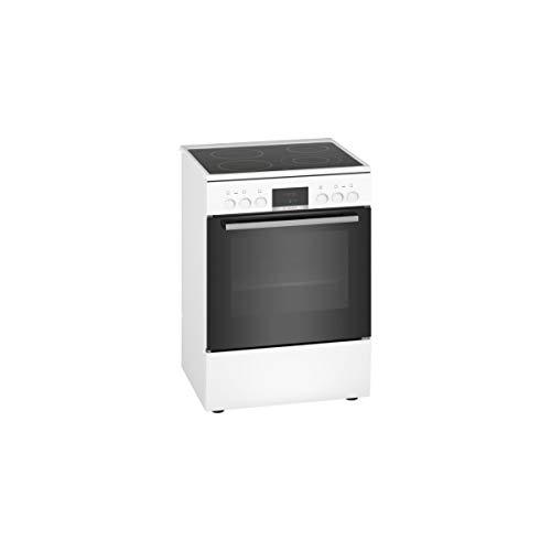 Bosch Serie 4 HKR39I120 four et cuisinière Noir, Blanc Plaque avec...