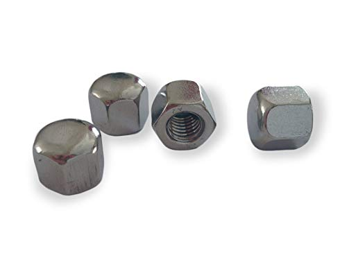 Hutmuttern niedrige Form DIN 917 M3/M4/M5/M6/M8/M10/M12/M14/M16 Edelstahl V2A // EHK-Verbindungstechnik (M10 25 Stück)