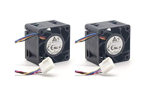 (2 unidades) Ventiladores de repuesto para Aruba HPE 2520G-24-PoE Switch (J9299A)