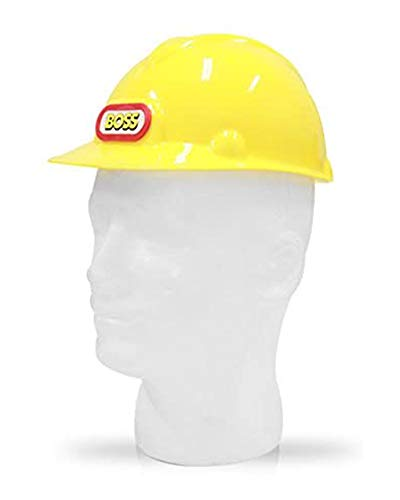Dress Up America Hard Hat for Kids - Yellow Construction Helmet for Toddlers