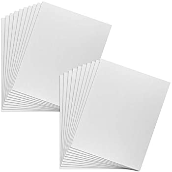 20 Pack of 11  X 14  Foam Boards OrdLive 1/8 Inch Thick Foam Core Baking Boards Polystyrene Poster Board Signboard for Presentations School Office & Art Projects