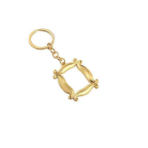 Friends Keychain Frame Yellow Peephole Handmade Door Frame As Seen on Monica