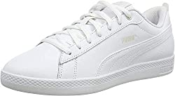 PUMA Damen Smash Wns v2 L Zapatillas, Weiß White White, 40 EU