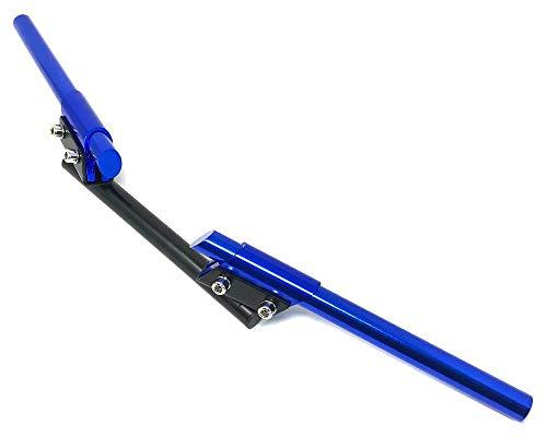 7/8' 22mm Motocicleta Manillar Para Traje Café Racer, Street Fighter, Brat Bicicleta Retro Project - Azul