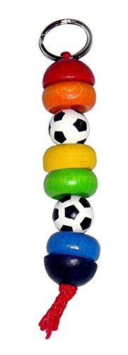 Hess Jouet en bois 30300 – Portemanteau Football en bois, env. 35 x 17 cm