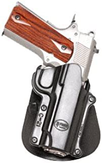 Fobus Conceal concealed carry Rotating Paddle Holster fits Colt 45 Government & All 1911 style / FN High power / FN 49 / Kimber 4&5 inch / Sasilmaz Klinic 2000 light / Browning Hi-power Mark III 4, 5mm. / Browning GPDA 9