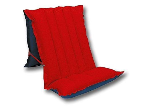 Happy People Sitz - und Liegematratze, 175x54x12cm , 78032 , blau/rot