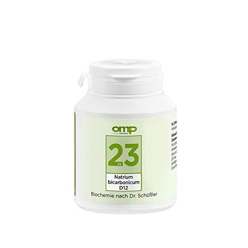 Schüssler Salz Nr. 23 Natrium bicarbonicum D12 | 400 Tabletten | Das Salz zur Säurepufferung | glutenfrei