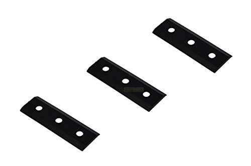 3 X 8,5 CM Hauptmesser für LESCHA Häcksler ZAK 2700, 3500; 52534, 56787, 52645