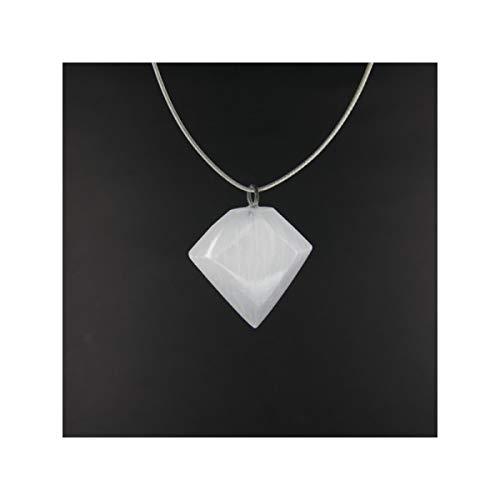 Mineral Import Colgante de Selenita Rombo - 3948VC