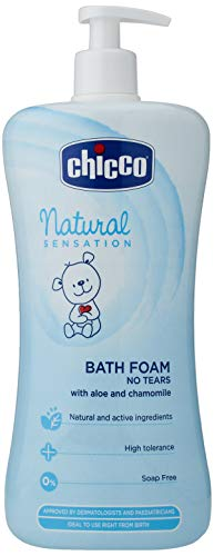 Chicco Natural Sensation - Gel de baño sin lágrimas 750 ml