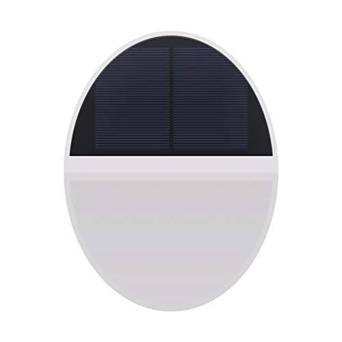 Uonlytech Solarleuchten Outdoor-Sicherheit Outdoor-Mikrowelle Induktion Wandleuchte für Wanddeck Zaun Korridor Garten Hof Garage Weg