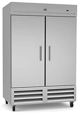 Kelvinator KCHRI54R2DFE Stainless Steel Reach-in Commercial Freezer, 2 Doors, 49 cu.ft