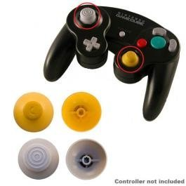 New Gamecube Replacement Analog Cap Yellow Replaces Worn Out Analog Cap On Gamecube Controller