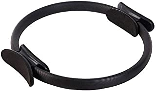 YXZQ Fitness Equipment, Pilates Ring Magic Circle Body Sport Exercise Fitness Strength Yoga Tool-Black