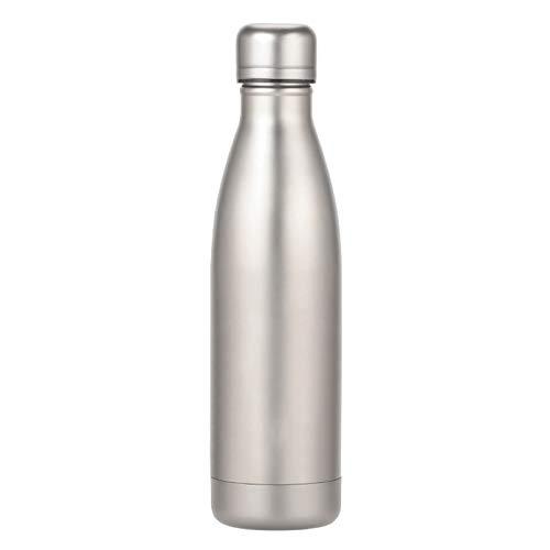 Botella de agua ligera, botella de titanio puro para ciclism