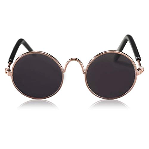 RongDuosi Fashion Goed uitziende huisdier benodigdheden huisdier zonnebril zwart Lens huisdier benodigdheden huisdier benodigdheden