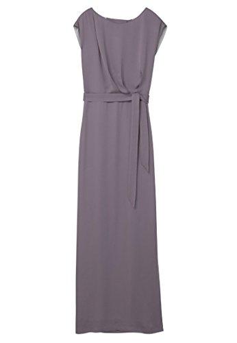 Mango Damen Kleid Abendkleid Gr. M Lila Flieder