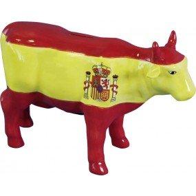 muschel-sammler-shop 'Hucha Vaca pintadas a Mano España–Divertido Regalo–Regalo Idea–irre Hucha–Decoración