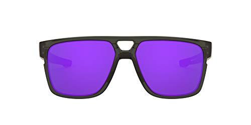 Oakley Crossrange Patch 938202 60 Gafas de sol, Gris (Grey Smoke), Hombre