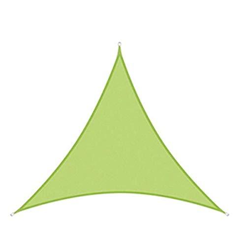sun shade sail Sombra de Sol Impermeable Vela Patio al Aire Libre Jardín 1E1S7C (Color : Green, Size : 2X2X2M)