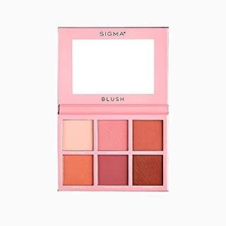 Sigma Beauty Universal Blush Palette, 6 Colors