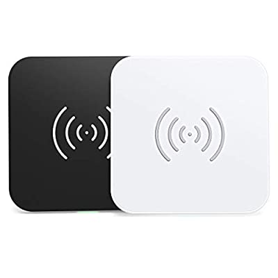 CHOETECH 7.5 / 10W Wireless Charger 2-Pack,QI Fast Charging for iPhone SE 2020/11 Pro / 11 Pro Max/Xs Max/XR / 8 Plus/X,Samsung Galaxy S20/Note 10 /S10 /Note 9 /S9 /S8, Huawei P30 Pro, Airpods 2 etc.