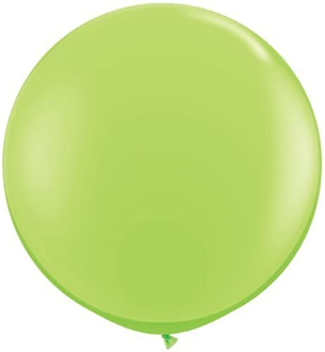 Lime Grün Giant 3ft Qualatex Latex Balloons x 2 by Qualatex